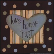 Love, Honor & Trust