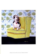 Beagle on Yellow
