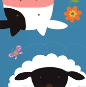 Farm Group: Cow and Sheep