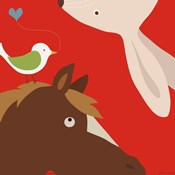 Farm Group: Rabbit and Horse