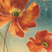Lovely I (New Orange Poppies)