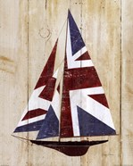 British Flag Sailboat