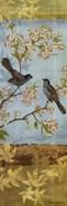 Catbirds & Blooms Panel