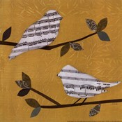 Golden Songbirds I