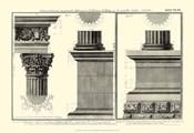Small Cornice Tempio di Vesta
