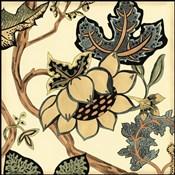 Small Jacobean Tile IV (P)