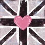 Union Jack Heart I