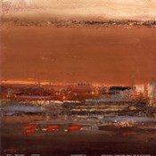Night Is Coming I (abstract square)