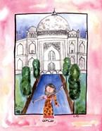 Girl in India