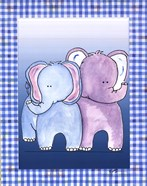 Two by Two Blue - Elephant