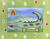 A is for Aligator