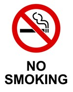 No Smoking - Small