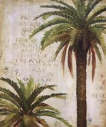 Palms and Scrolls I