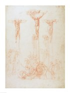 Study of Three Crosses