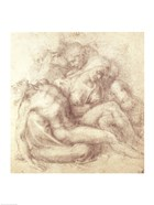 Figures Study for the Lamentation Over the Dead Christ, 1530