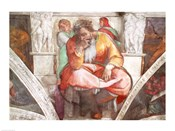 Sistine Chapel Ceiling: The Prophet Jeremiah
