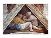 Sistine Chapel Ceiling: The Ancestors of Christ
