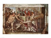 Sistine Chapel Ceiling: Noah After the Flood