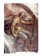 Sistine Chapel Ceiling: One of the Ancestors of God