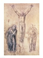 Inv.1895-9-15-509 Recto W.81 Study for a Crucifixion
