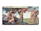 Sistine Chapel Ceiling (1508-12): The Fall of Man, 1510