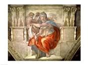 Sistine Chapel Ceiling: Delphic Sibyl