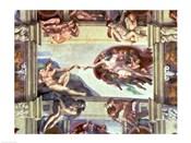 Sistine Chapel Ceiling: Creation of Adam, 1510 B