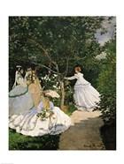 Women in the Garden, 1867