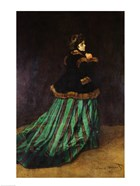 Camille, or The Woman in the Green Dress, 1866