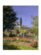 Flowering Garden at Sainte-Adresse, c.1866