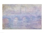 Waterloo Bridge: Effect of the Mist, 1903