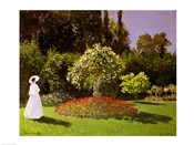 Jeanne Marie Lecadre in the Garden, 1866
