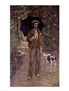 Man with an Umbrella, c.1868-69
