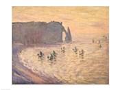 The Cliffs at Etretat, 1886