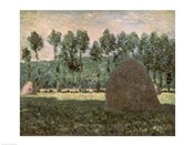Haystacks near Giverny, c.1884-89