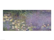Waterlilies: Morning, 1914-18 (left section)