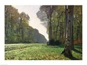 The Road to Bas-Breau, Fontainebleau (Le Pave de Chailly), c.1865