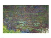 Waterlilies at Sunset, detail from the right hand side, 1915-26