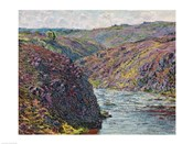 Ravines of the Creuse at the End of the Day, 1889