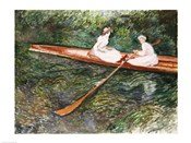 The Pink Rowing Boat