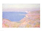 On the Cliffs near Dieppe, Sunset, 1897