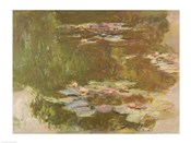 Water Lilies, Reflected Willow, c.1920