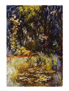 Corner of a Pond with Waterlilies, 1918