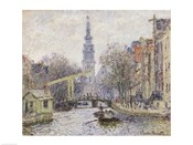 Canal a Amsterdam, 1874