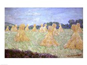 Haystacks, The young Ladies of Giverny, Sun Effec
