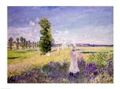 The Walk (Argenteuil), c.1872-75