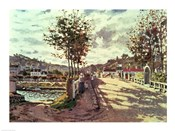 The Seine at Bougival, 1869
