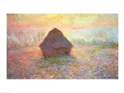 Haystack, Hazy Sunshine, 1891