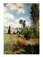 Path through the Poppies, Ile Saint-Martin, Vetheuil, 1880