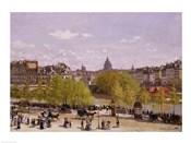 Quai du Louvre, Paris, 1866-7